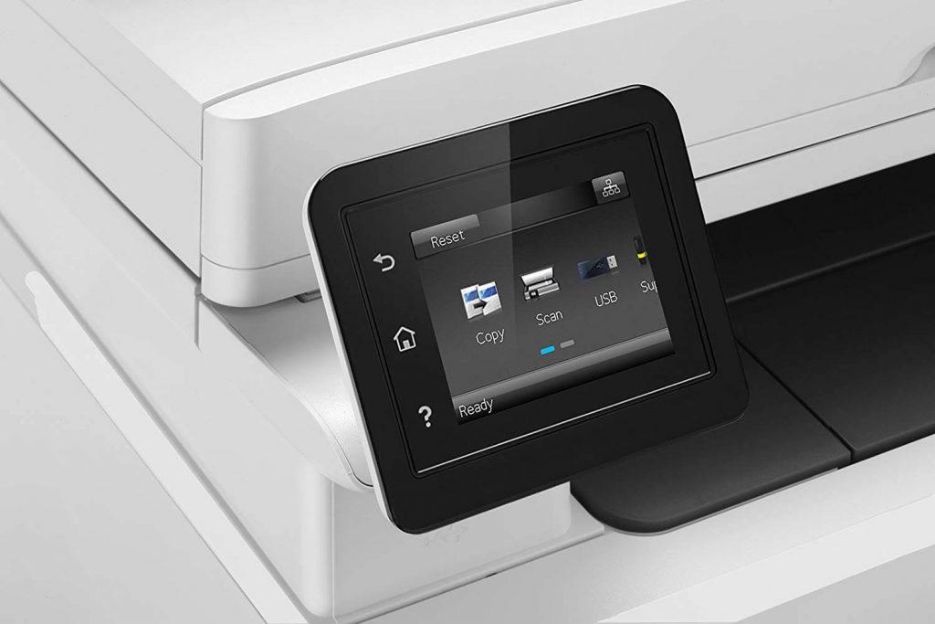 écran lcd imprimante laser