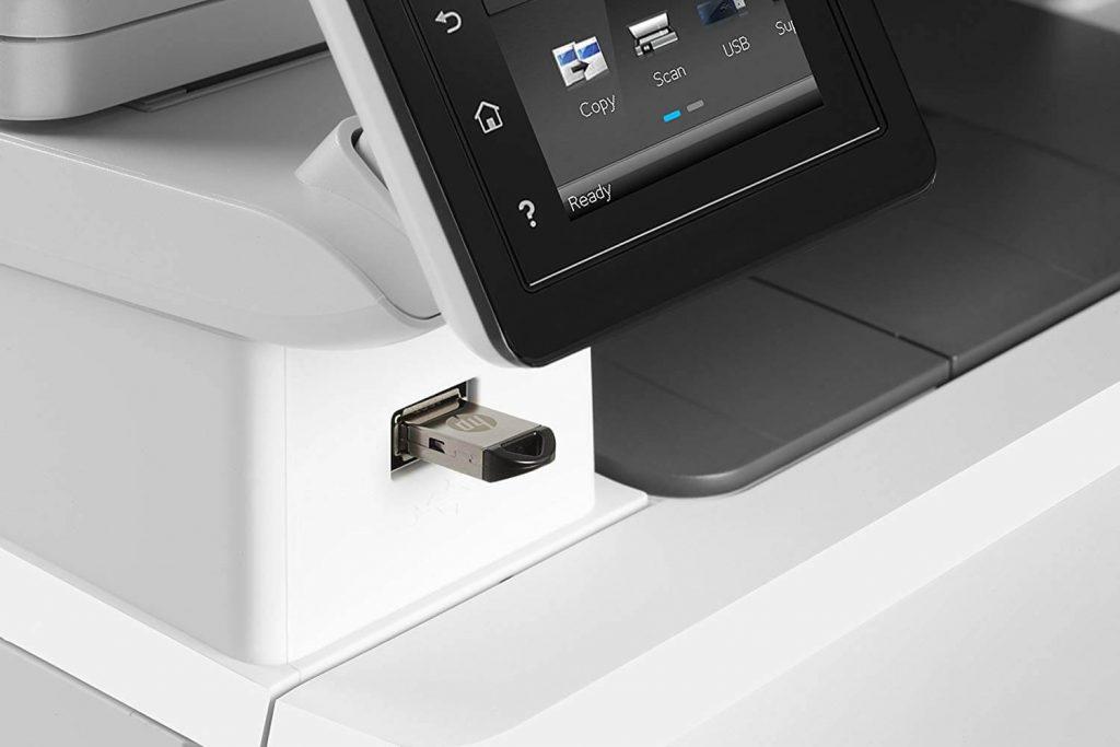 port usb imprimante HP M280NW